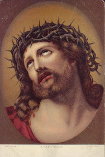 Jesus Christ with crown of thorns color gallery