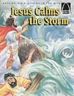 Jesus Calms the Storm CD and Audio book cover page pic