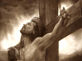 Jesus Christ on the cross on Crucifixion day brown  background hd(hq) Christian religious wallpaper