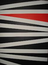 rojo sobre zebra