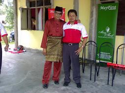 Bersama Bekas Duta Pronoton - Dato Jalaludin Hassan