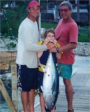 Catching a big tuna