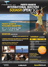 Puerto Madryn International Masters Squash Open 2009