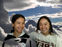 Me and Darian up in the clouds