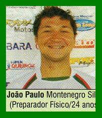 PREPARADOR DÍSICO JOÃO PAULO MONTENEGRO SILVA