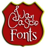 Juan Casco Fonts