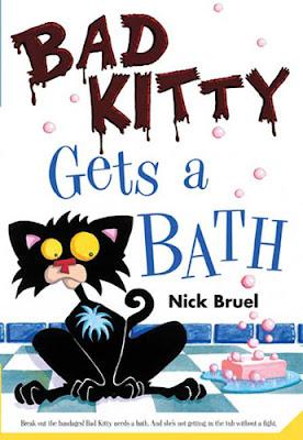 bad kitty gets a bath summary