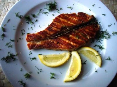 ryba z grilla