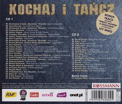 okładka składanka cd kochaj i tańcz