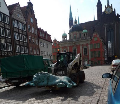 lwy fontanna gdańsk