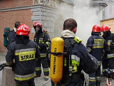strażacy wielka zbrojownia gdańsk