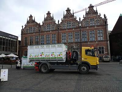 kontenery na śmieci, czyste miasto gdańsk