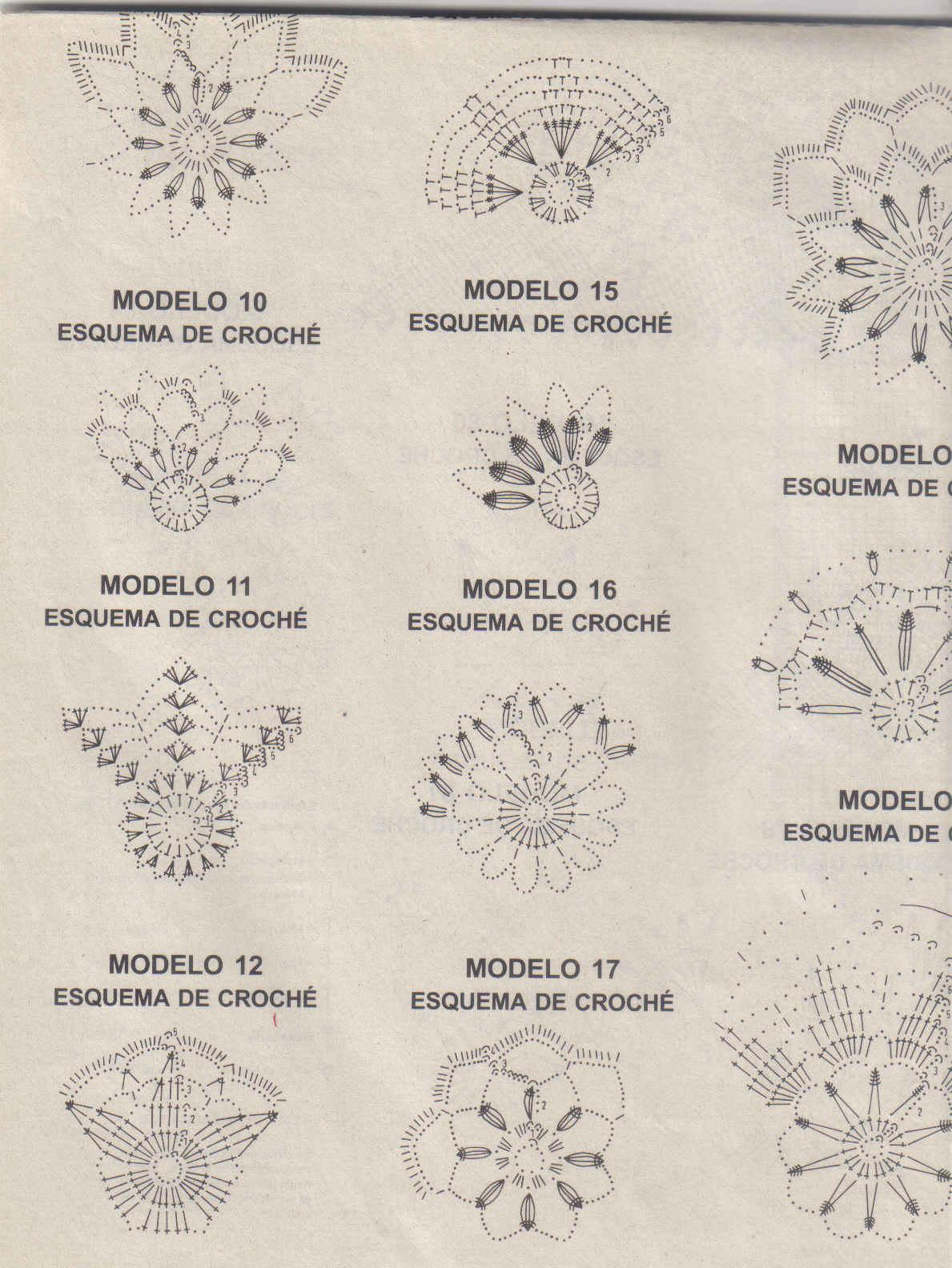 Adicta al tejido adornos navide os a crochet for Adornos navidenos tejidos a crochet 2016