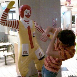 ronald mcdonald evil