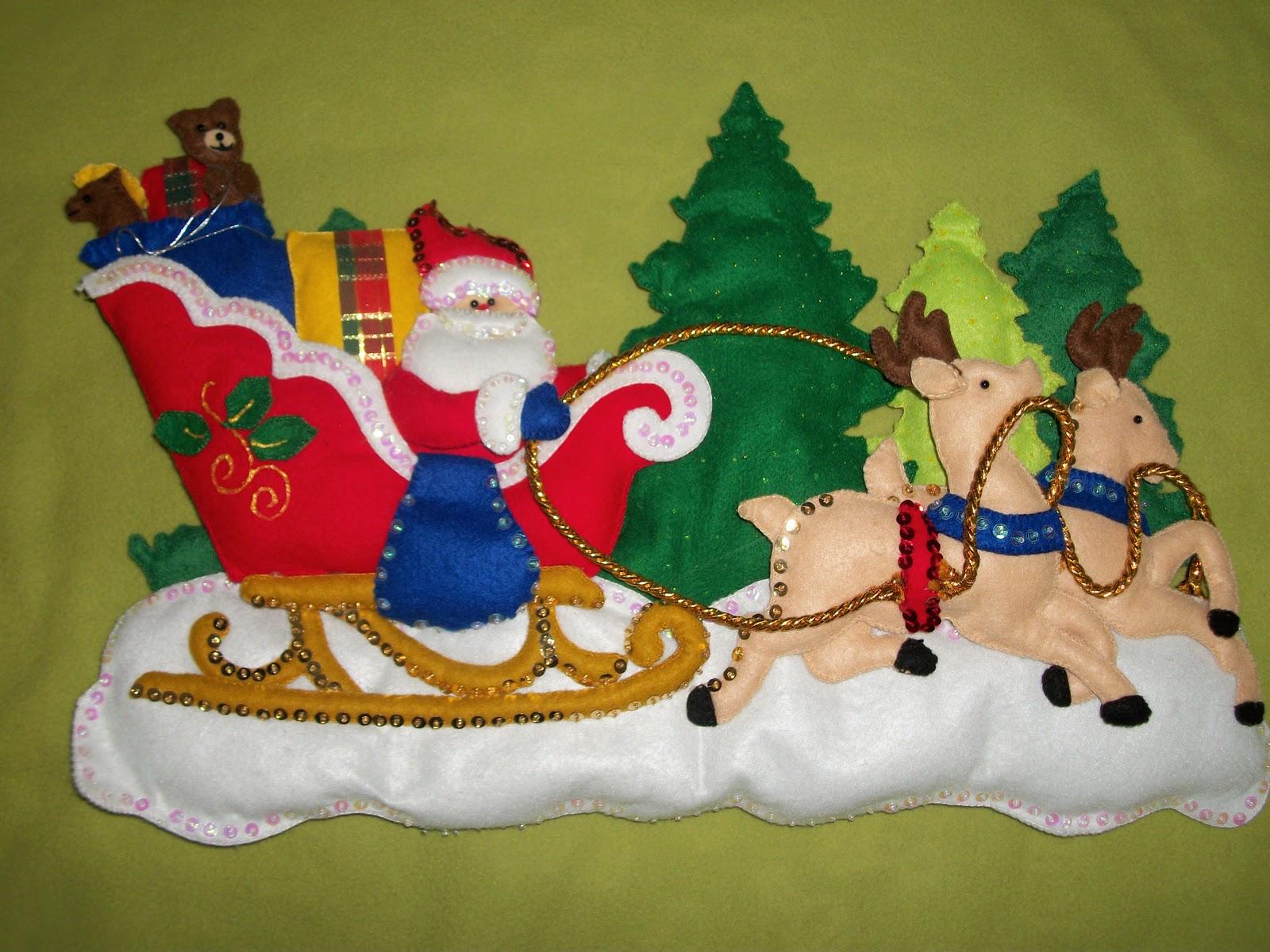 Tienda de dise o fieltro lo que se fue en esta navidad - Todo tipo de manualidades para hacer ...