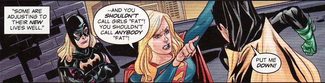 Robin vs supergirl
