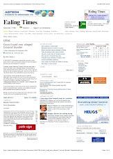KHOODEELAAR! comment on EALING Times web site