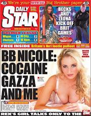 The sub-pornographic, pimpling 'daily' newspaper! 'STAR'