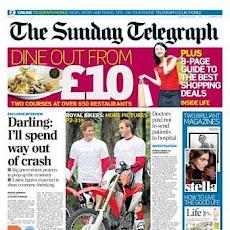 Dire Darling desperately heads for Crossrail Debts CRASH