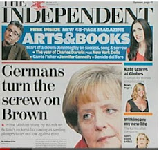 Now, even the CRASSLY-edited Independent REPORTS on Brown's CRASS 'economics' 'policies'!
