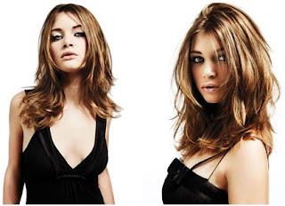 coiffure dégrade volume cheveux fin