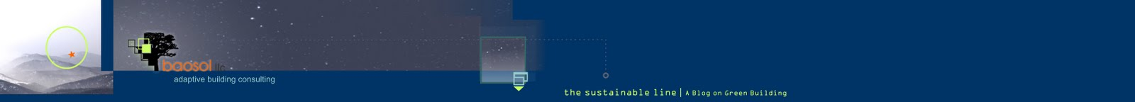 the sustainable line : a blog on green building