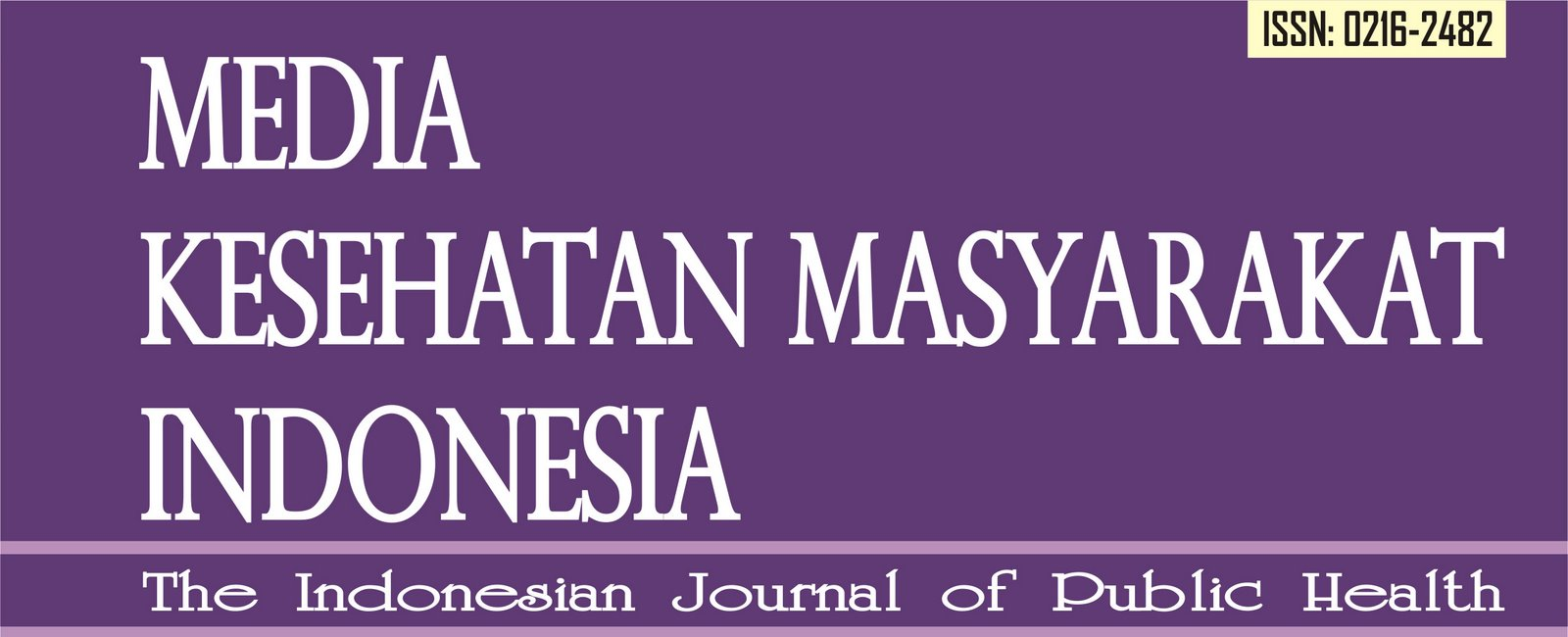 Jurnal Media Kesehatan Masyarakat Indonesia
