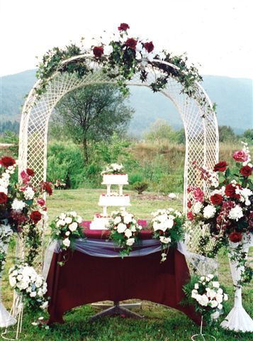 Wedding Arch Decoration, wedding arch