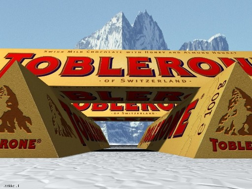 Toblerone Bar Swiss Style