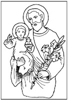 heres another st joseph coloring sheet