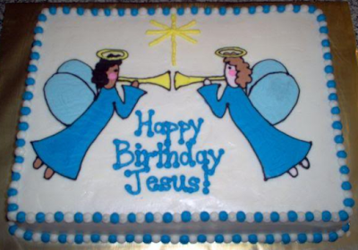 Happy Birthday Jesus Cakes