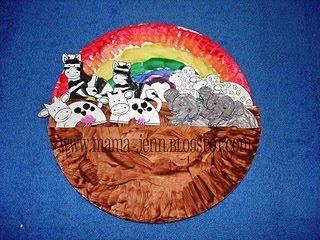 Catholic icing rainbow crafts god keeps his promises for Noah s ark preschool craft
