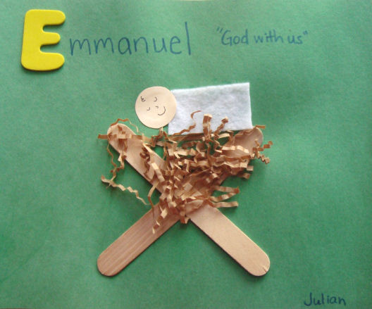 baby jesus craft for preschoolers emmanuel craft for 401
