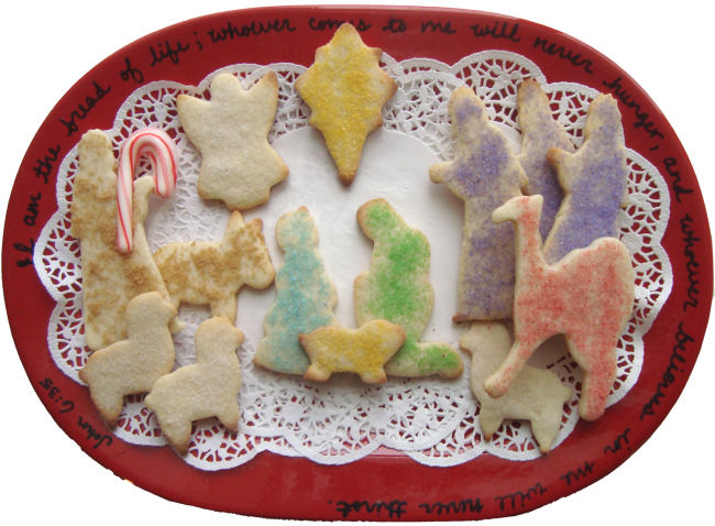 Easy Nativity Cookies