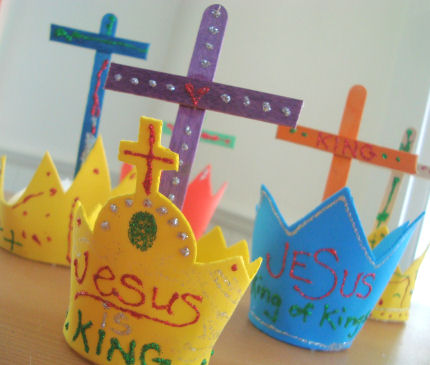 catholic icing christ the king craft. Black Bedroom Furniture Sets. Home Design Ideas