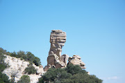 Mount Lemmon rock formation