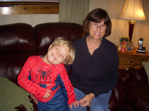 Spider man and Aunt Ann