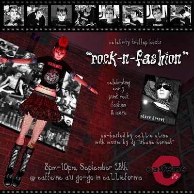 Fashion Events on Cline  Celebrity Trollop Hosts Friday S  Rock N Fashion  Event