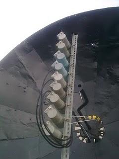 Gambar di atas adalah cara menangkap Telkom 2, Palapa D2, dan Thaicom ...