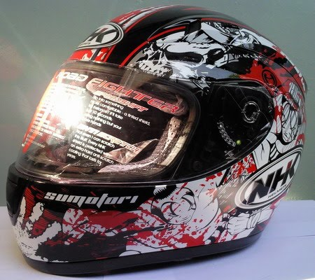 Helm NHK Sumotori Black Red