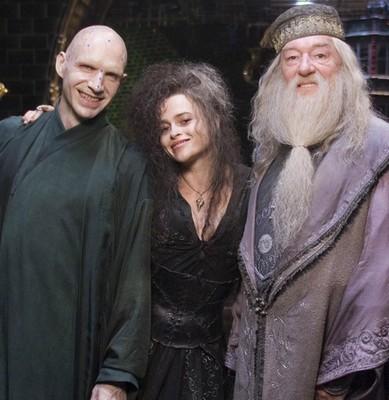 Voldemort, Bellatrix Lestrange & Albus Dumbledore