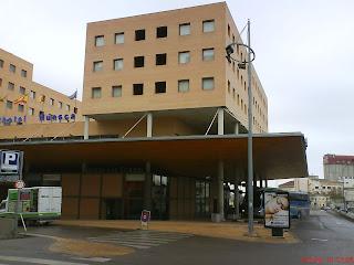 Estación de autobuses tren Huesca