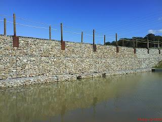 presa agua estancada Barranco de la Muerte