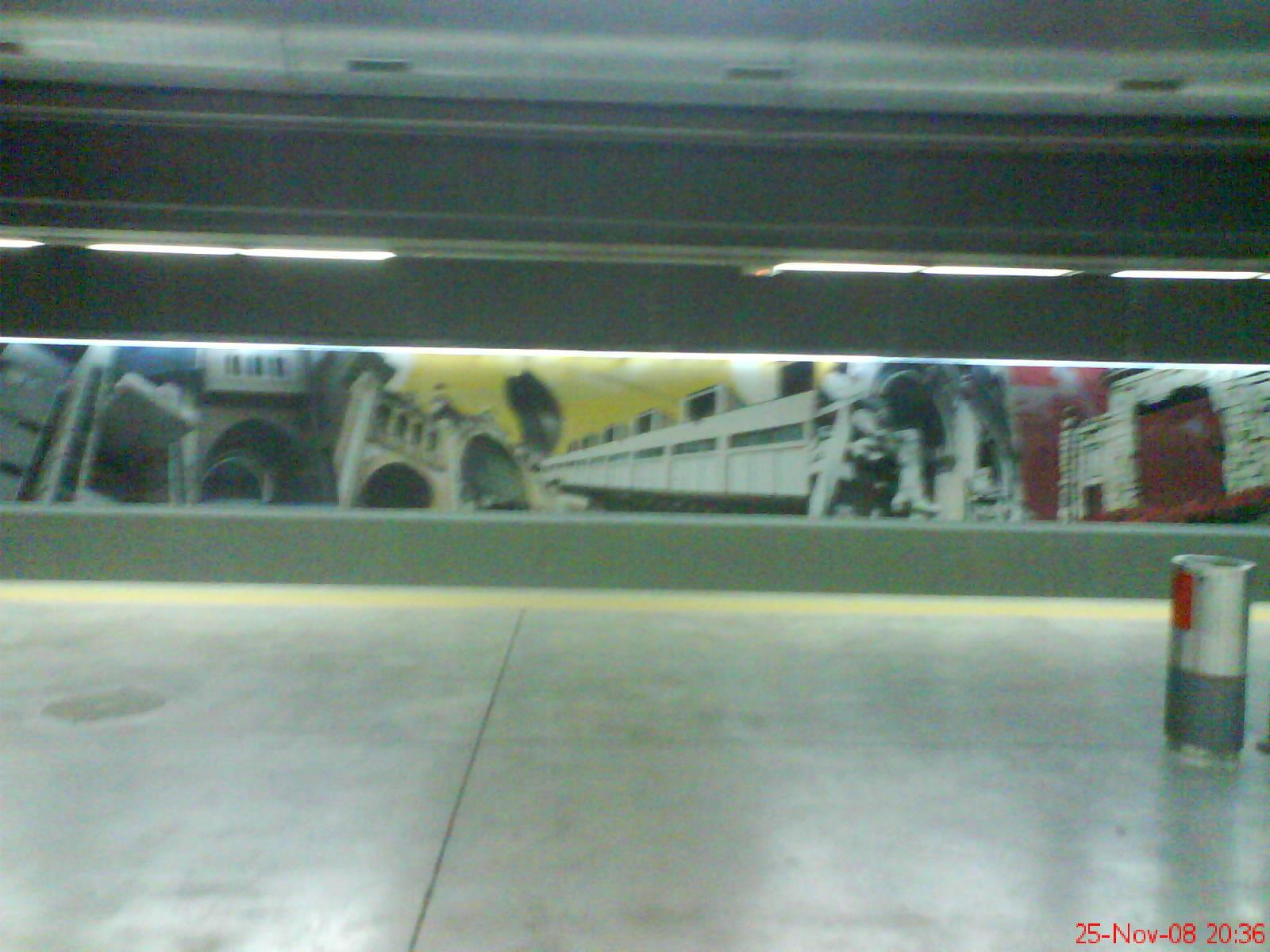 interiores nueva estación de cercanías el Portillo Zaragoza