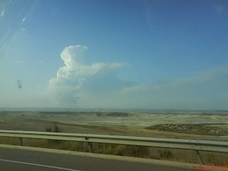 humo incendio de Pinar de Zuera