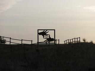 escultura encuadre colina de Valdespartera