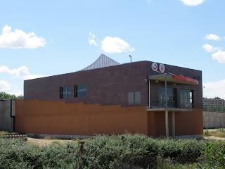 huertos Estación de Miraflores tren de cercanías Zaragoza