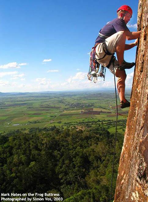 climbing on the sky
