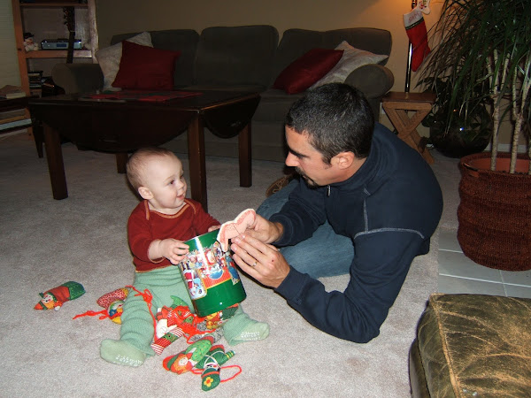 Uncle Pete with Ava