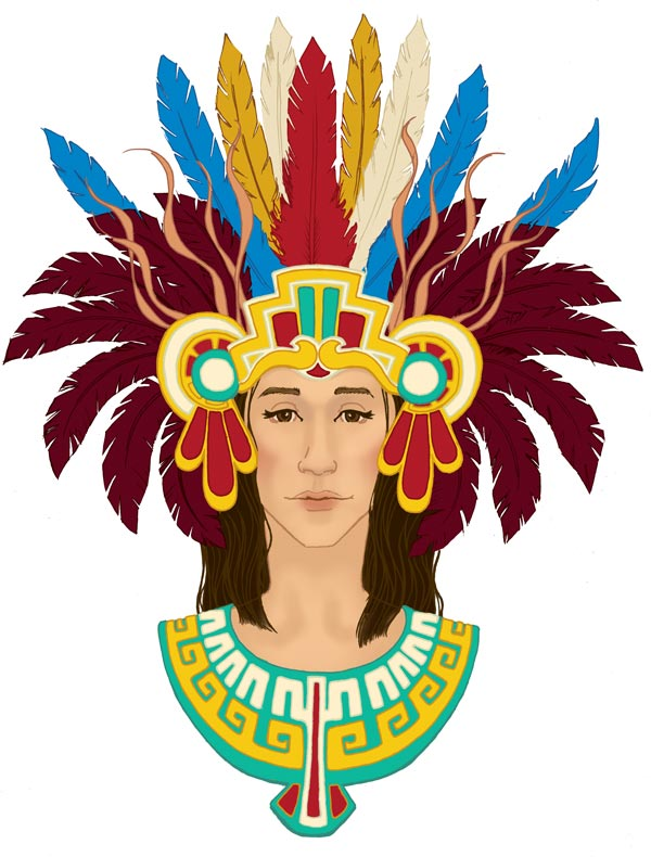 Xochiquetzal Aztec God Xochiquetzalscancolor jpgXochiquetzal Aztec God